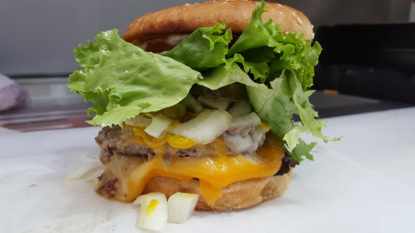 "Whittier's BEST BURGER - ""The Nina"""